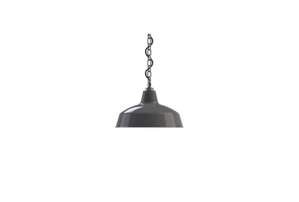 Barn Light Electric Steber Avalon Chain Hung Pendant