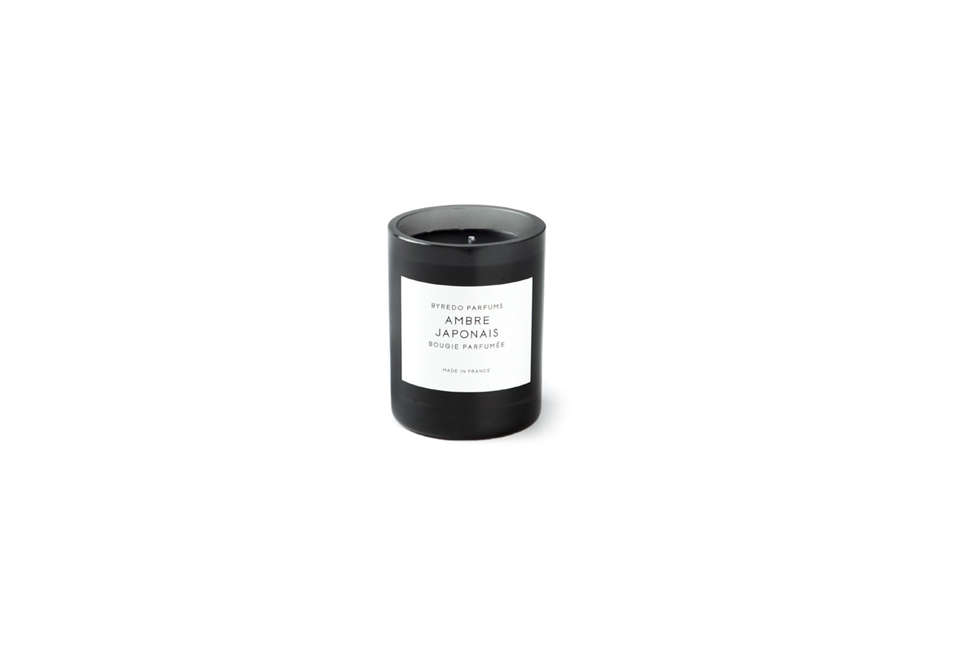 Steal This Look A Rustic Farmhouse Living Room in Upstate New York Byredo Amber Japonais Candle