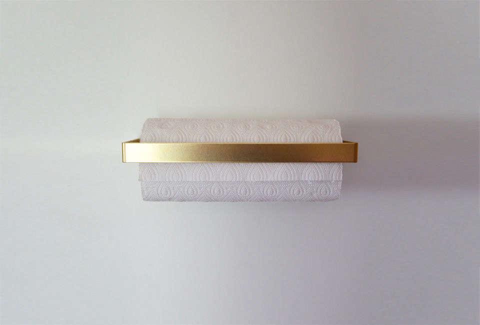 calvill brass küchenrollenhalter paper towel holder 9