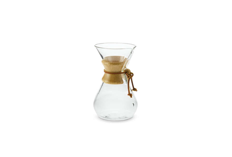 Chemex Pour Over Carafe with Wood Neck