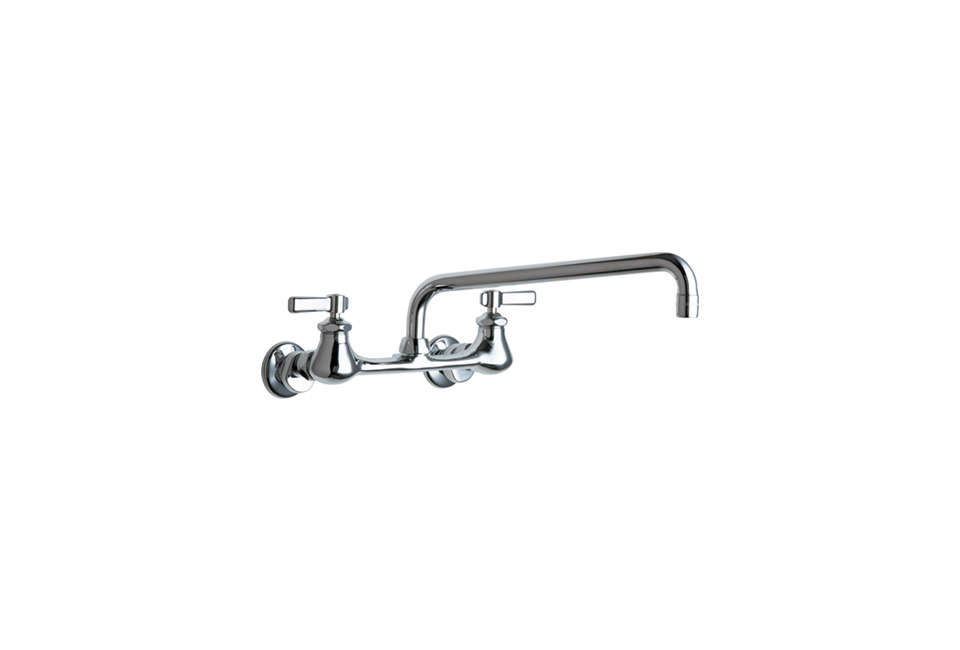 Chicago Faucets Hot and Cold Water Sink Faucet