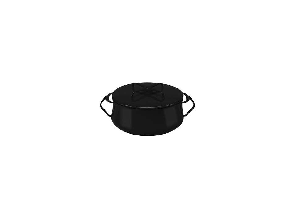 Dansk Kobenstyle Black Casserole Pan