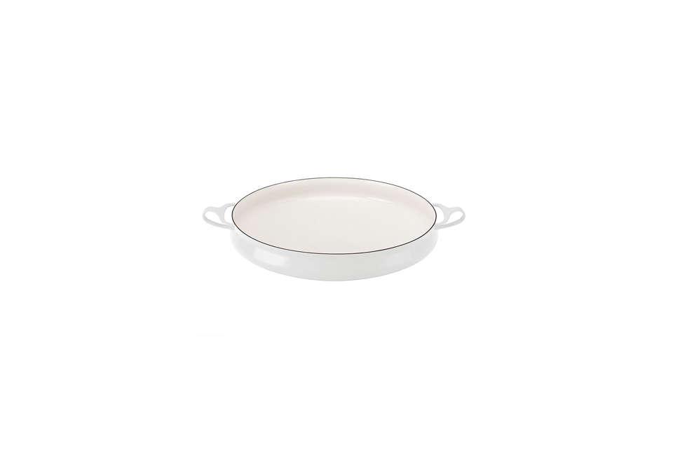 Dansk Kobenstyle Large Buffet Pan in White