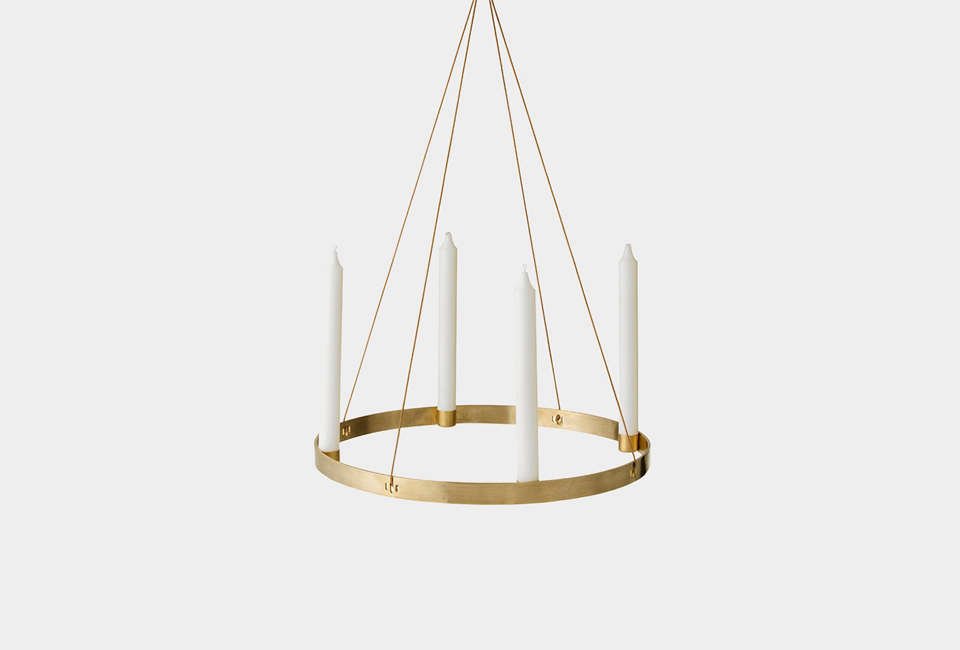ferm living circle candle holder 9