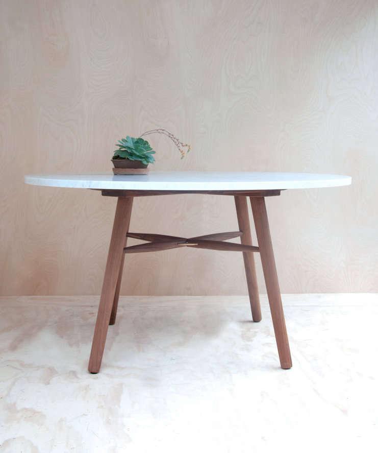 hudson workshop marble kitchen table 11