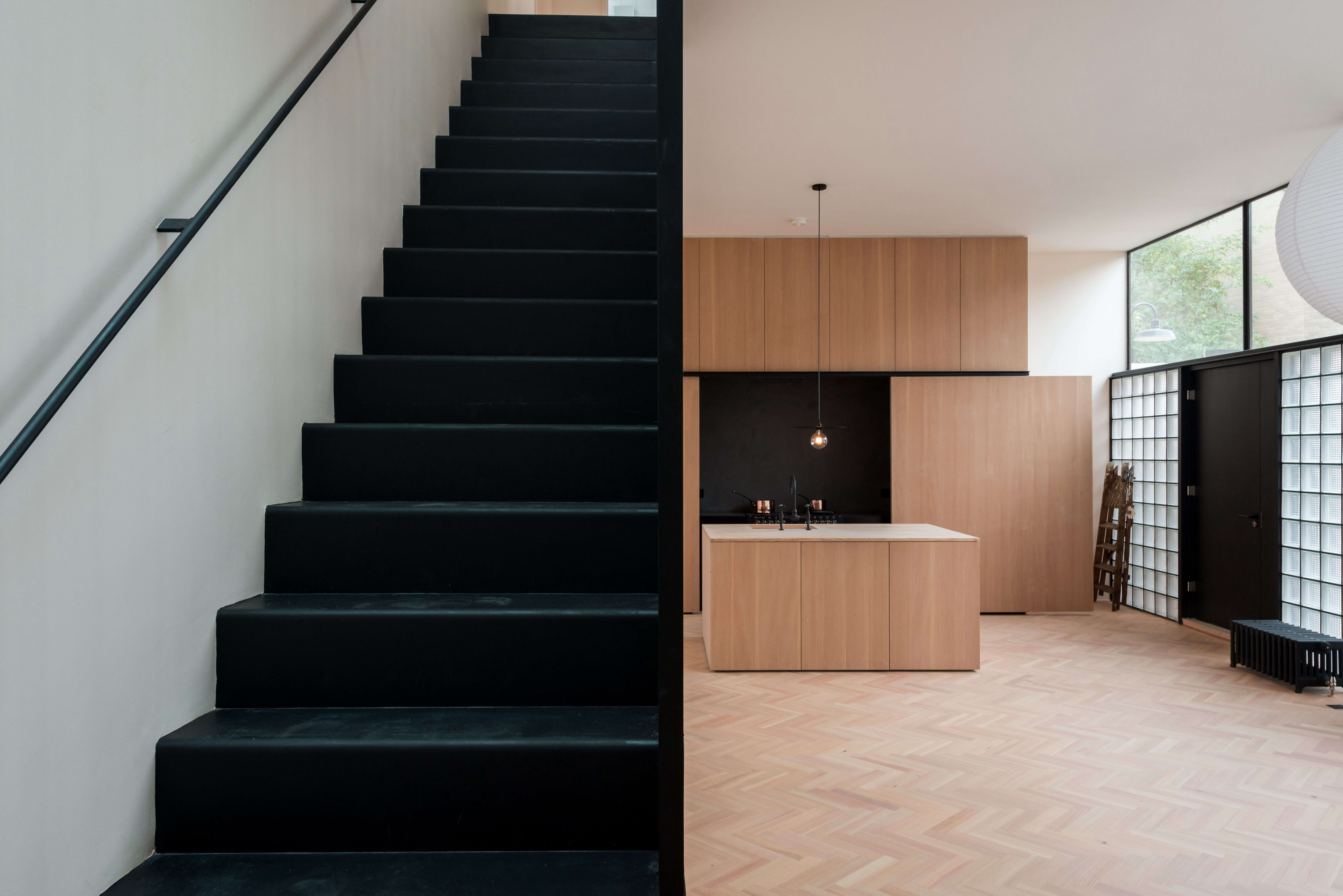 On the Market A London NewBuild Inspired by the Iconic Maison de Verre imperial club frame property london 13