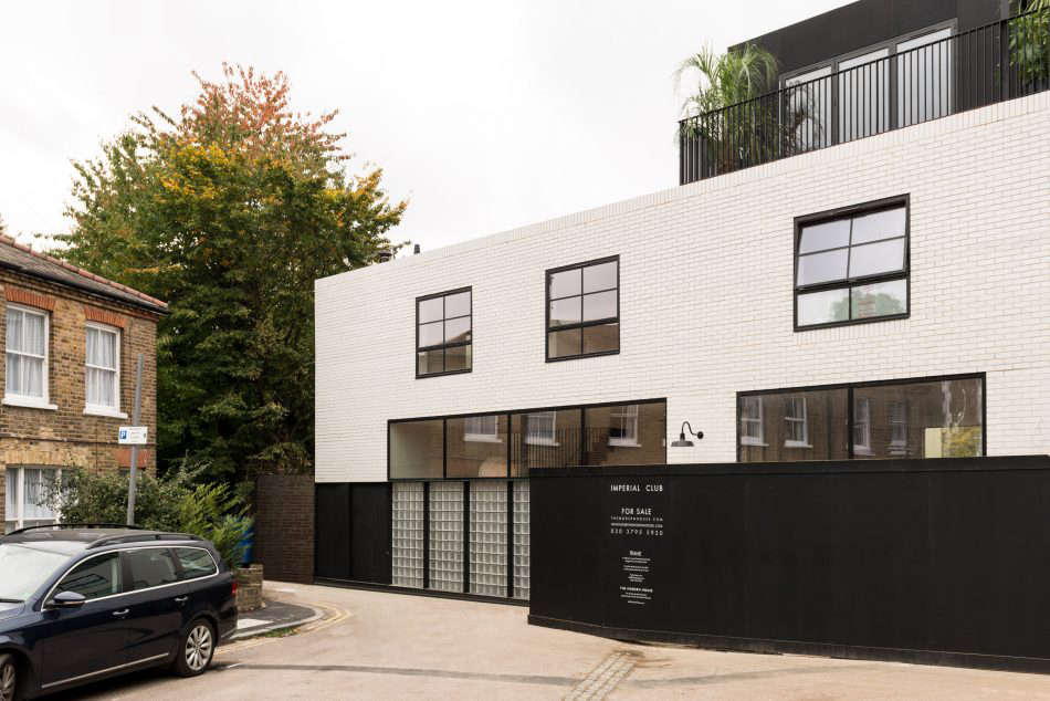 On the Market A London NewBuild Inspired by the Iconic Maison de Verre imperial facade london frame architecture