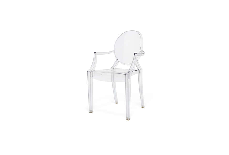 Kartell Louis Ghost Chair with Arms