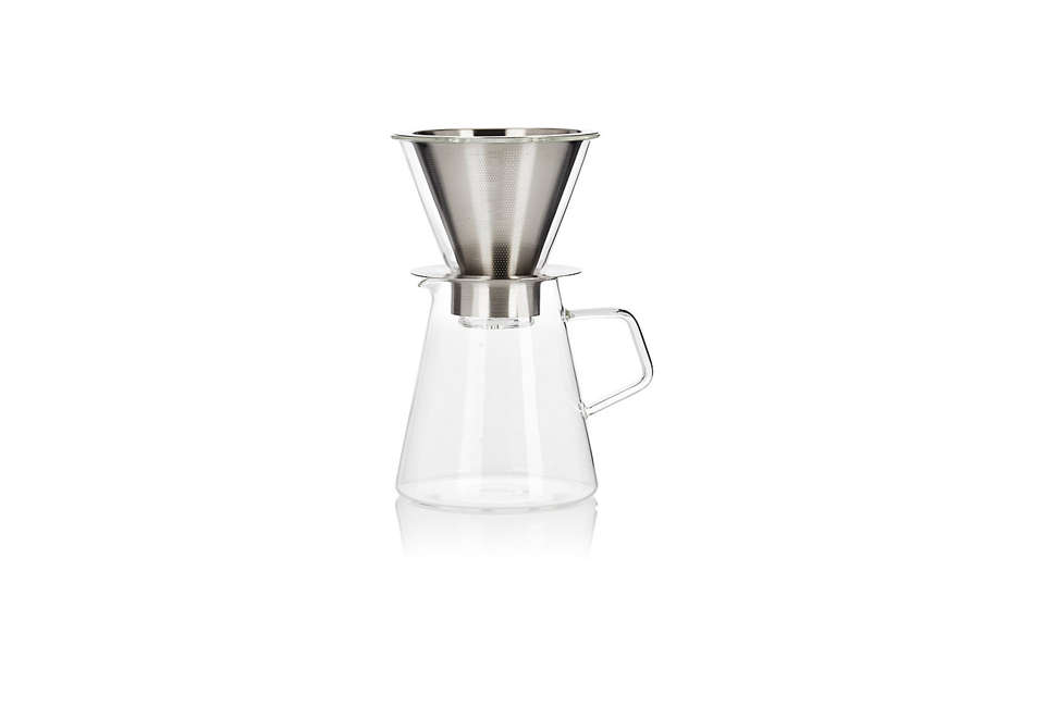 Kinto Carat Coffee Dripper and Pot Set