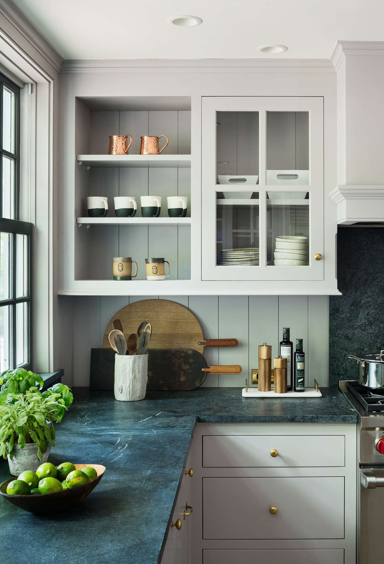 kitchen-in-modern-farmhouse-renovation-light-gray-cabinets