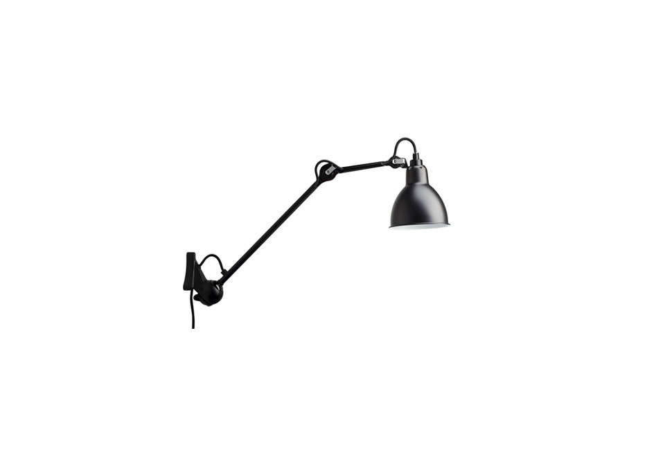 Steal This Look A Country House with Selective Color Lampe Gras 222 Wall Lights in Black