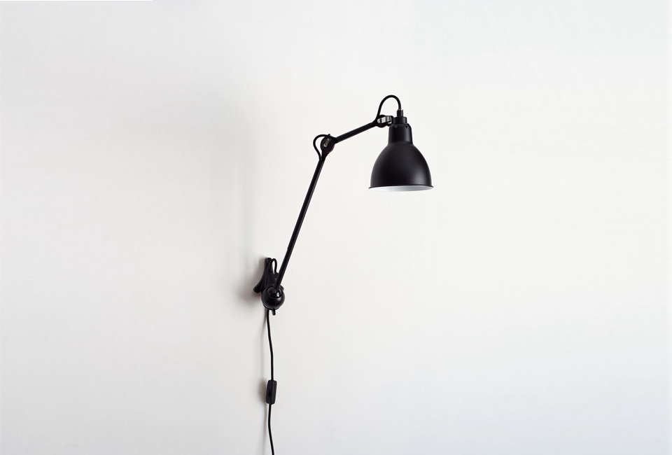 Lampe Gras Black Wall Sconce