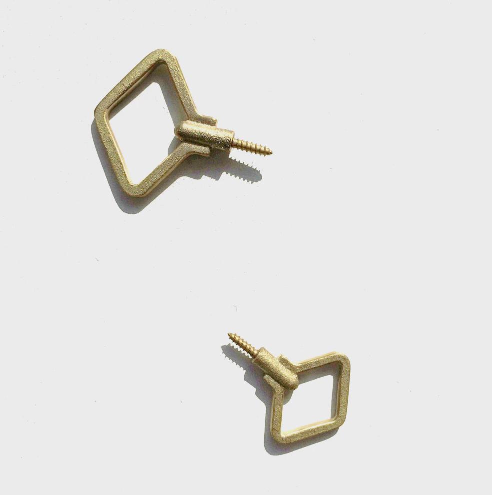 momosan shop brass hooks 16