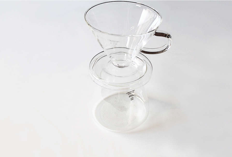 Puebco Glass Coffee Dripper
