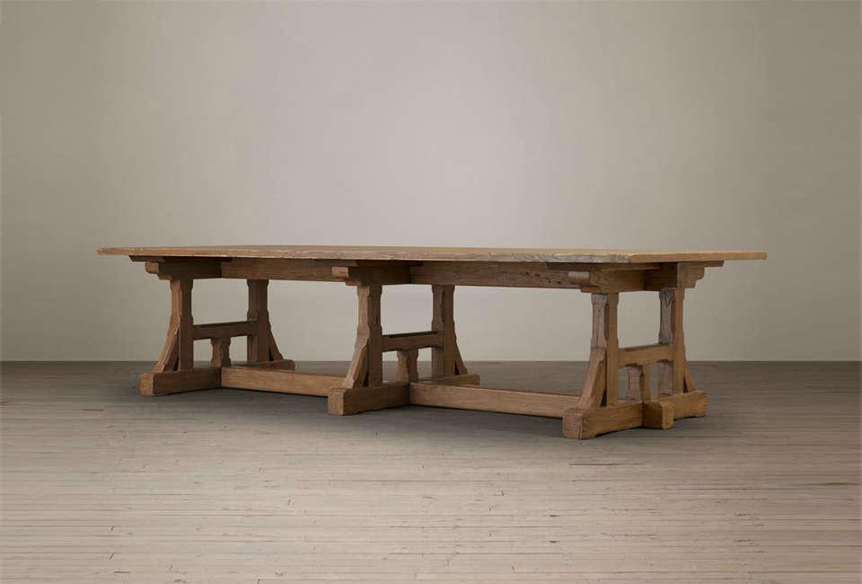 Restoration Hardware Circa 1900 Craftsman Rectangular Dining Table