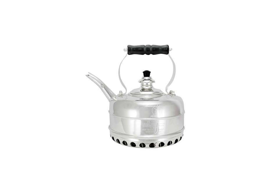 simplex jubilee silver plated kettle 12
