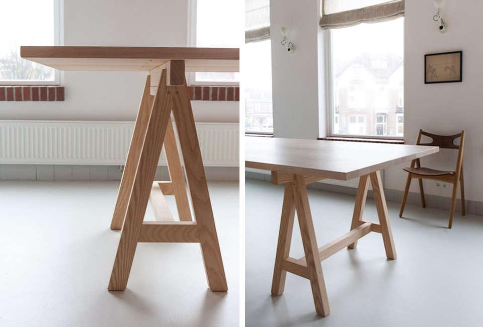 Slow Wood Grut 5 Skraag Table