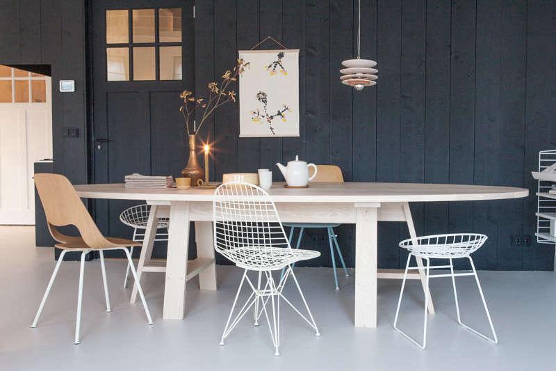 Slow Wood Grut 8 Table