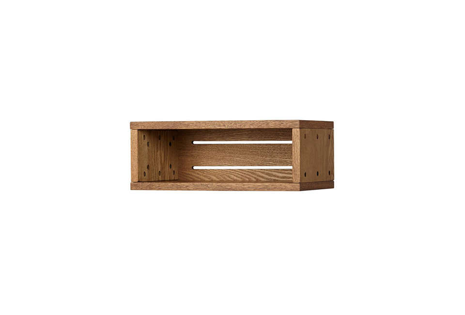 Small Narrow Cubby Wall Shelf from Land of Nod