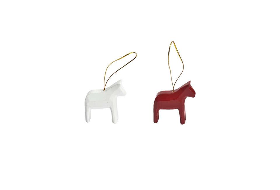 swedish dala horse ornament 17