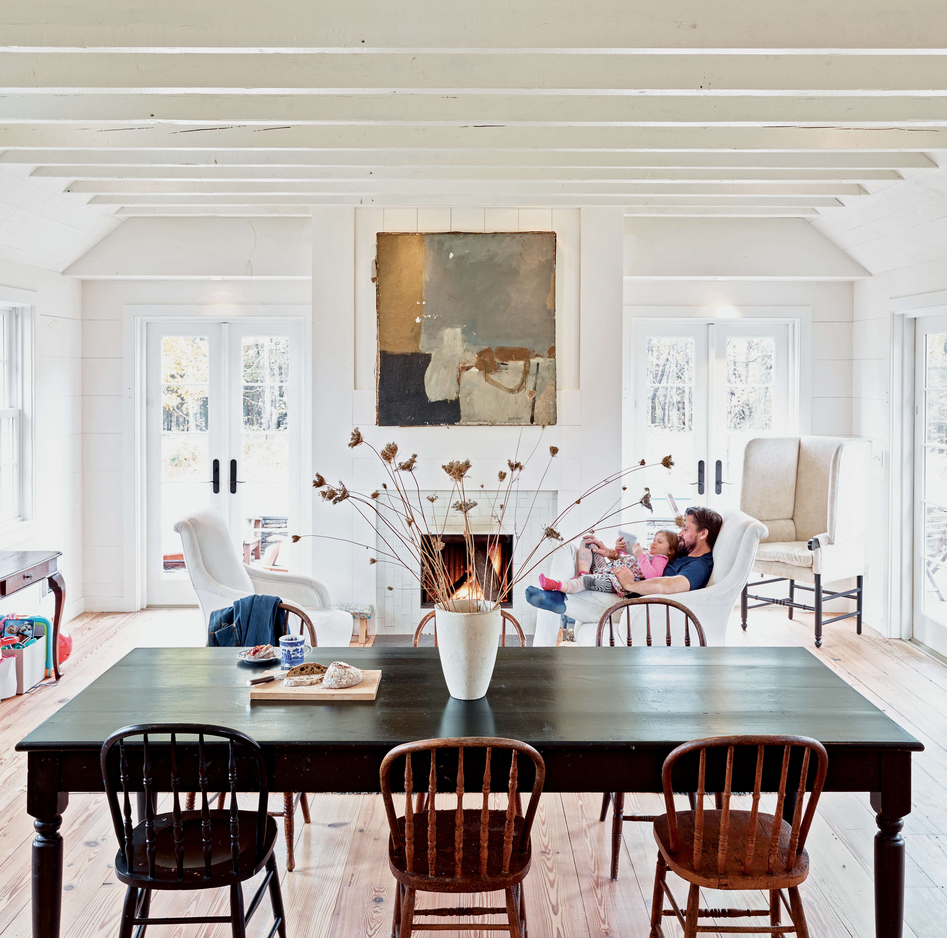 taavo somer dining room upstate from freeman's book 12