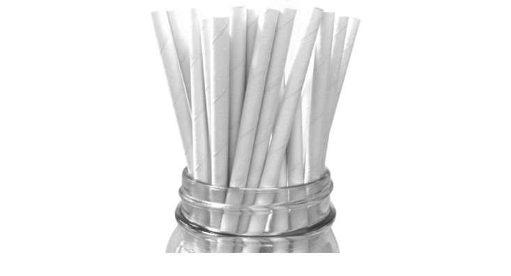 white paper straws 10 13