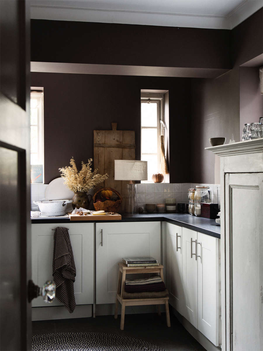 kitchen painted london clay by farrow and ball 18