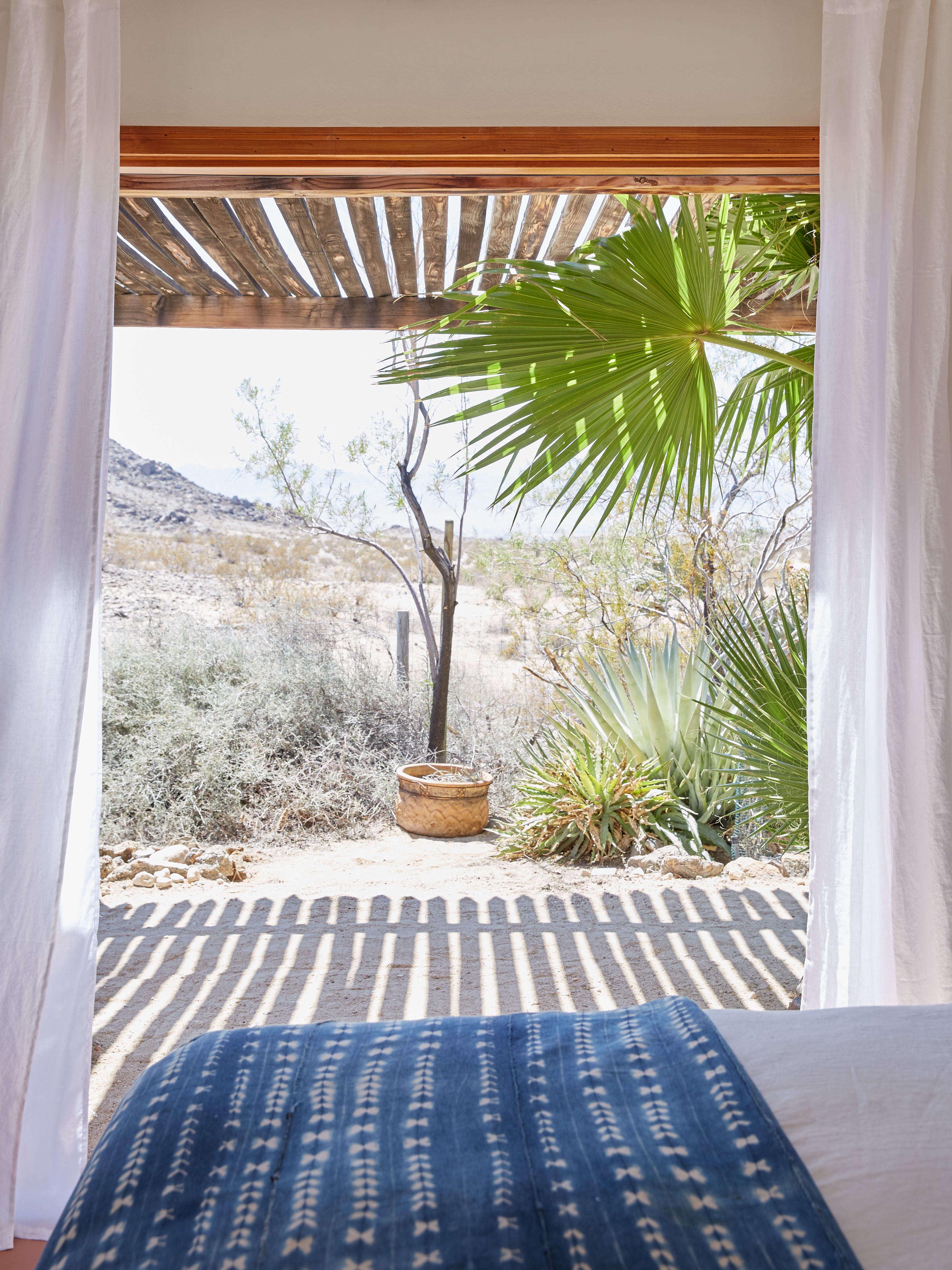 joshua tree casita airbnb desert view, kate sears photo