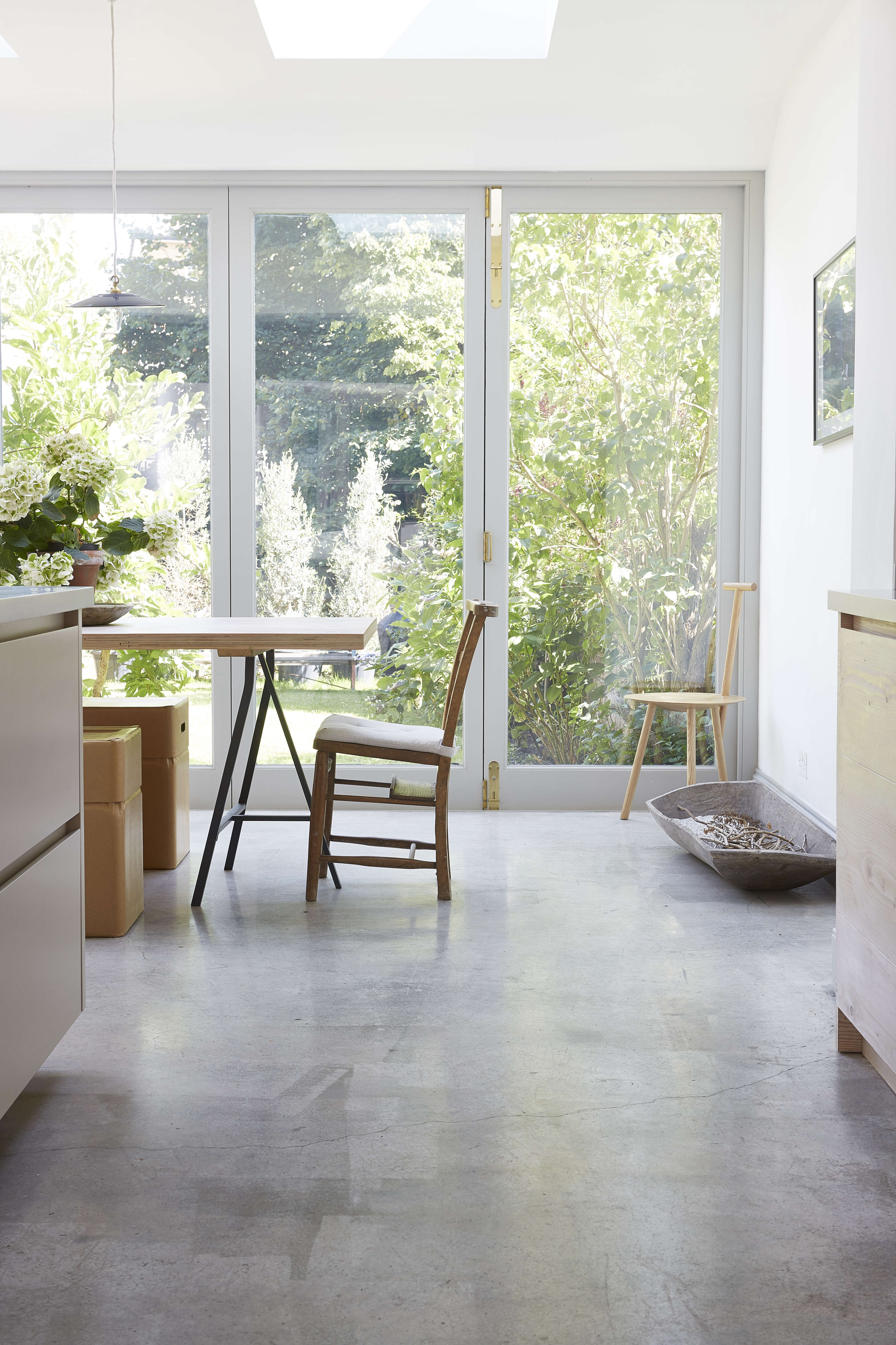 an addition that connects kitchen to garden in a london design by blakes london 16