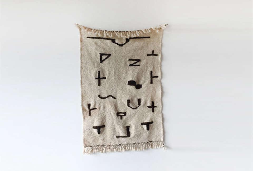 Alyson Fox Symbols Rug II