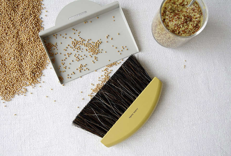 Andre Jardin Mr & Mrs Clynk Hand Broom Set