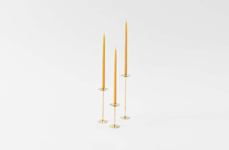 Ann Ladson Bronze Candlesticks