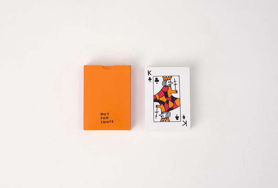 david shrigley painted playing cards 16