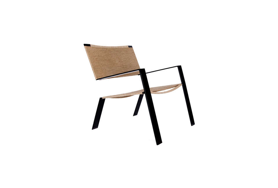 DUST Architects Metal and Rope Chair