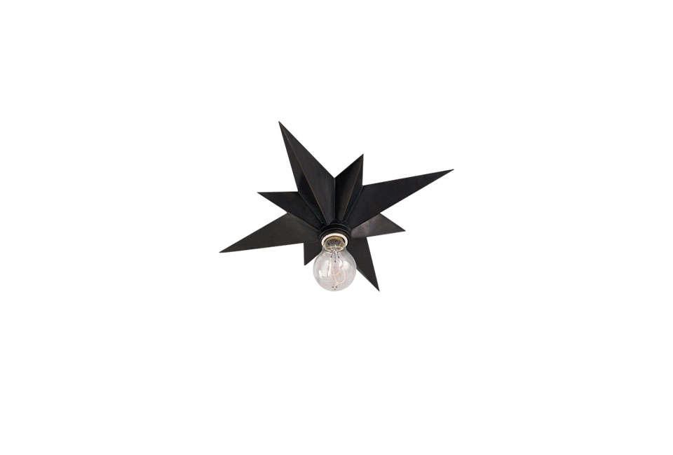 Eric Cohler Star Flush-Mount Light in Black