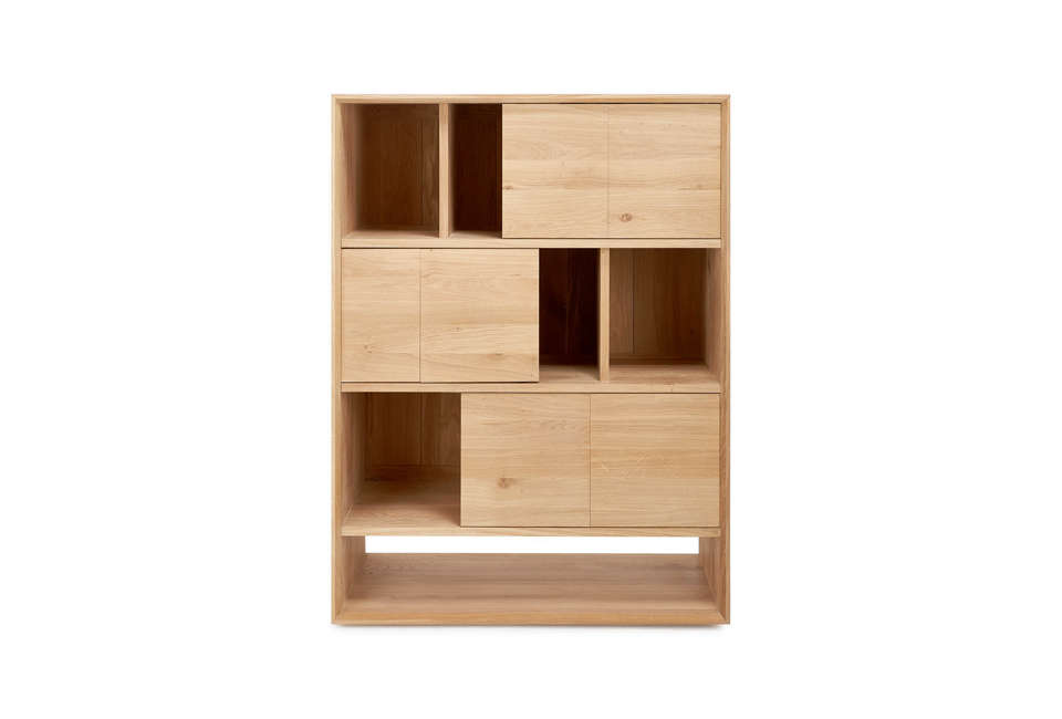 ethnicraft wood storage unit at abc carpet & home 10