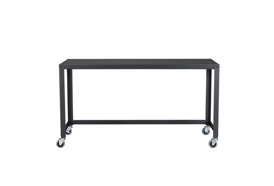 cb\2&#8\2\17;s go cart carbon rolling console table, designed as a desk or  9