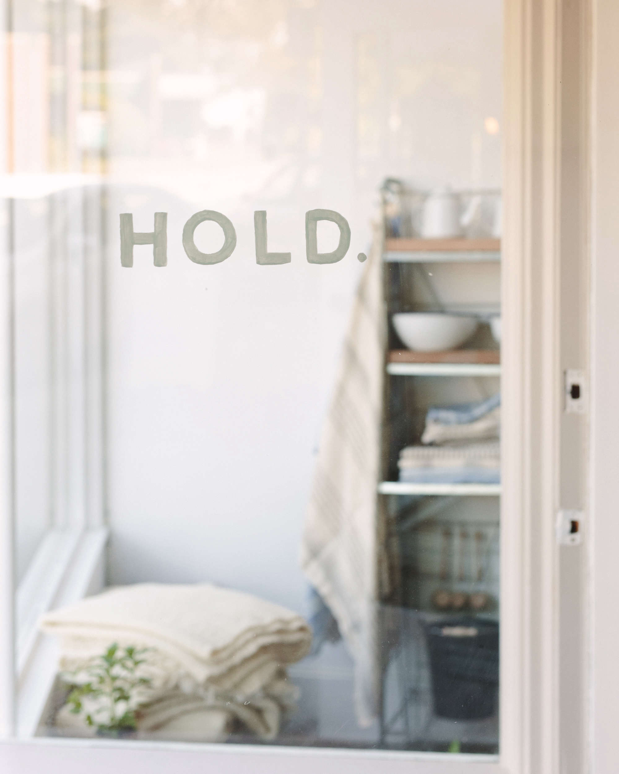 Hold General Store Front Window, Photo by Kelly Brown