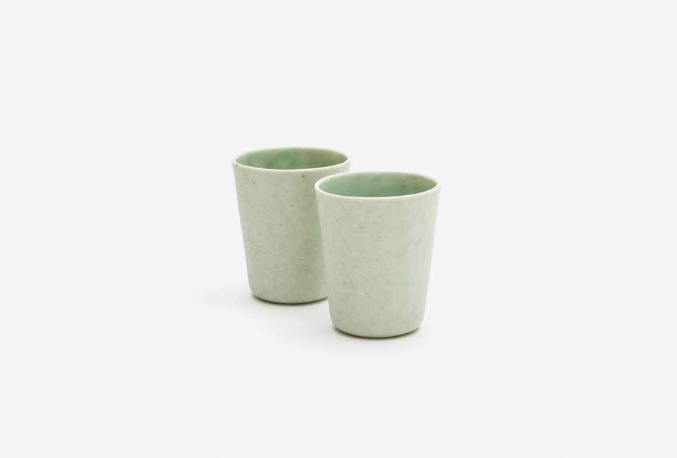 10 Easy Pieces The New Ceramic Wine Cup Ineke van der Werff Porcelain Bronze Small Cup