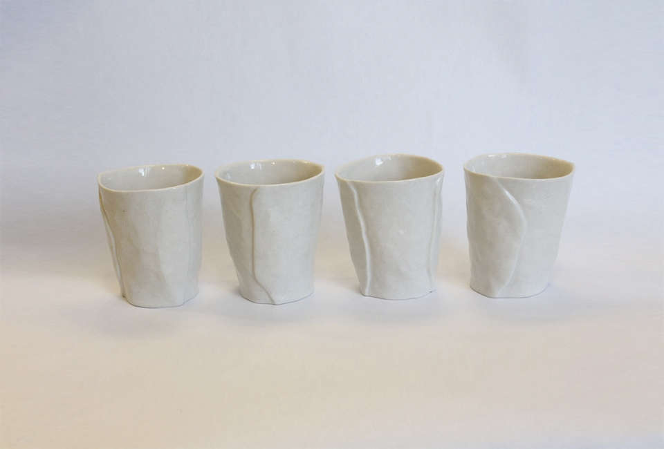 10 Easy Pieces The New Ceramic Wine Cup isabel halley ceramics set of 4 porcelain wine cups
