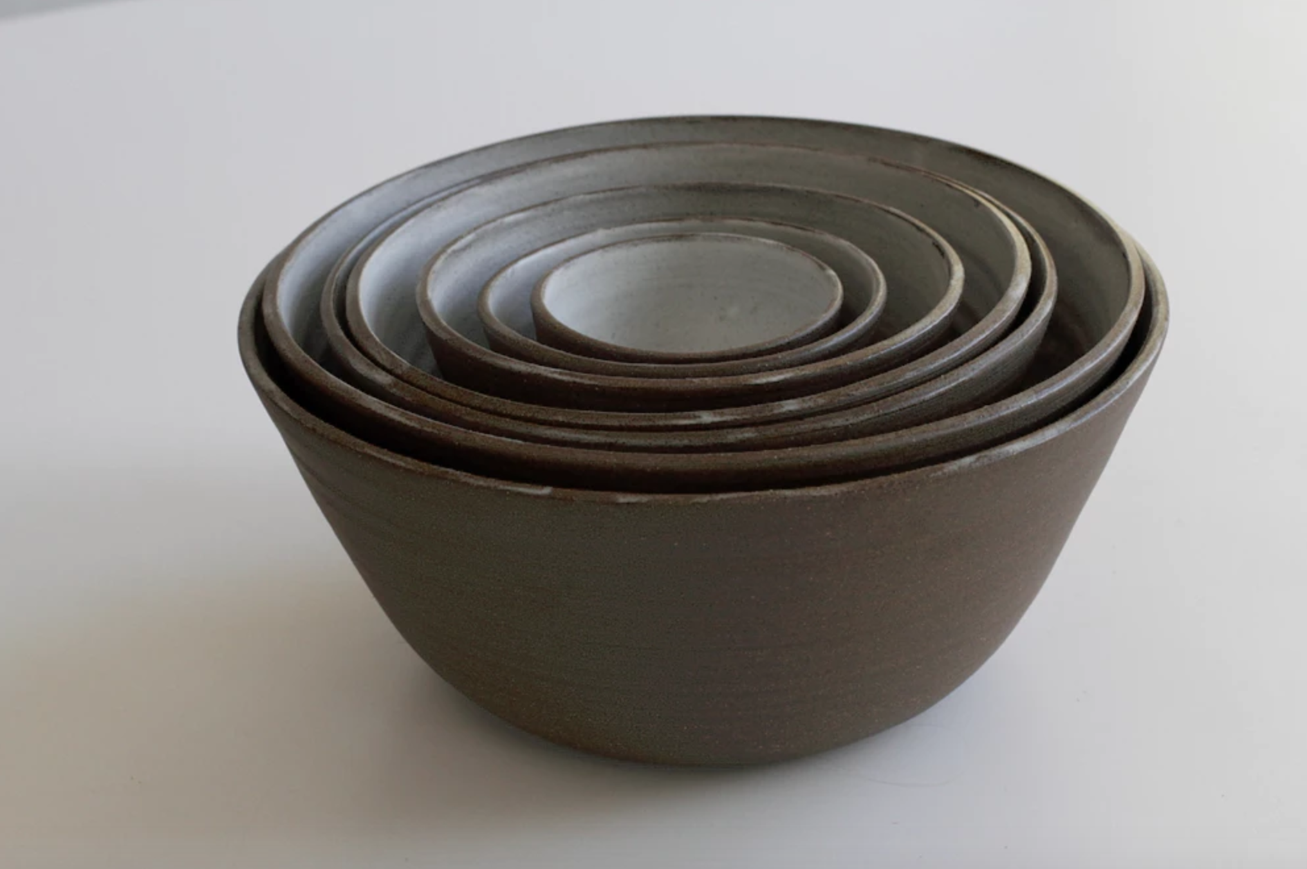 Seven Nesting Bowls by Kelli Cain