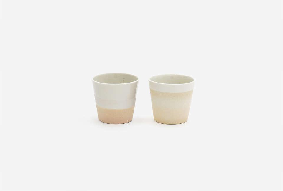 10 Easy Pieces The New Ceramic Wine Cup Kristie van Noort Cornwall Cup in Light