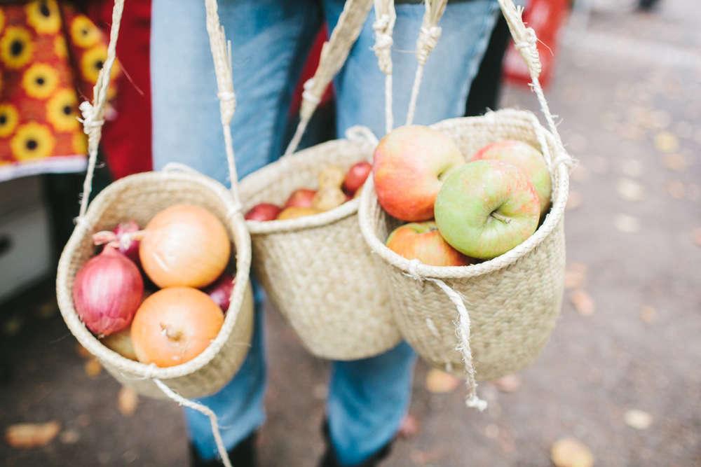 non perishable goods woven palm basket mini