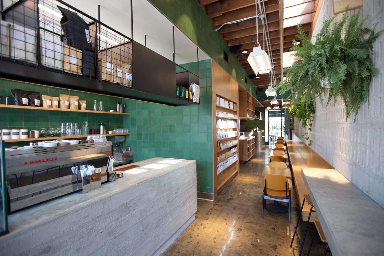 Interior of Paramount Coffee Project in LA
