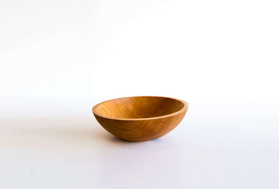 Peterman Wood Bowl Lost & Found Shop