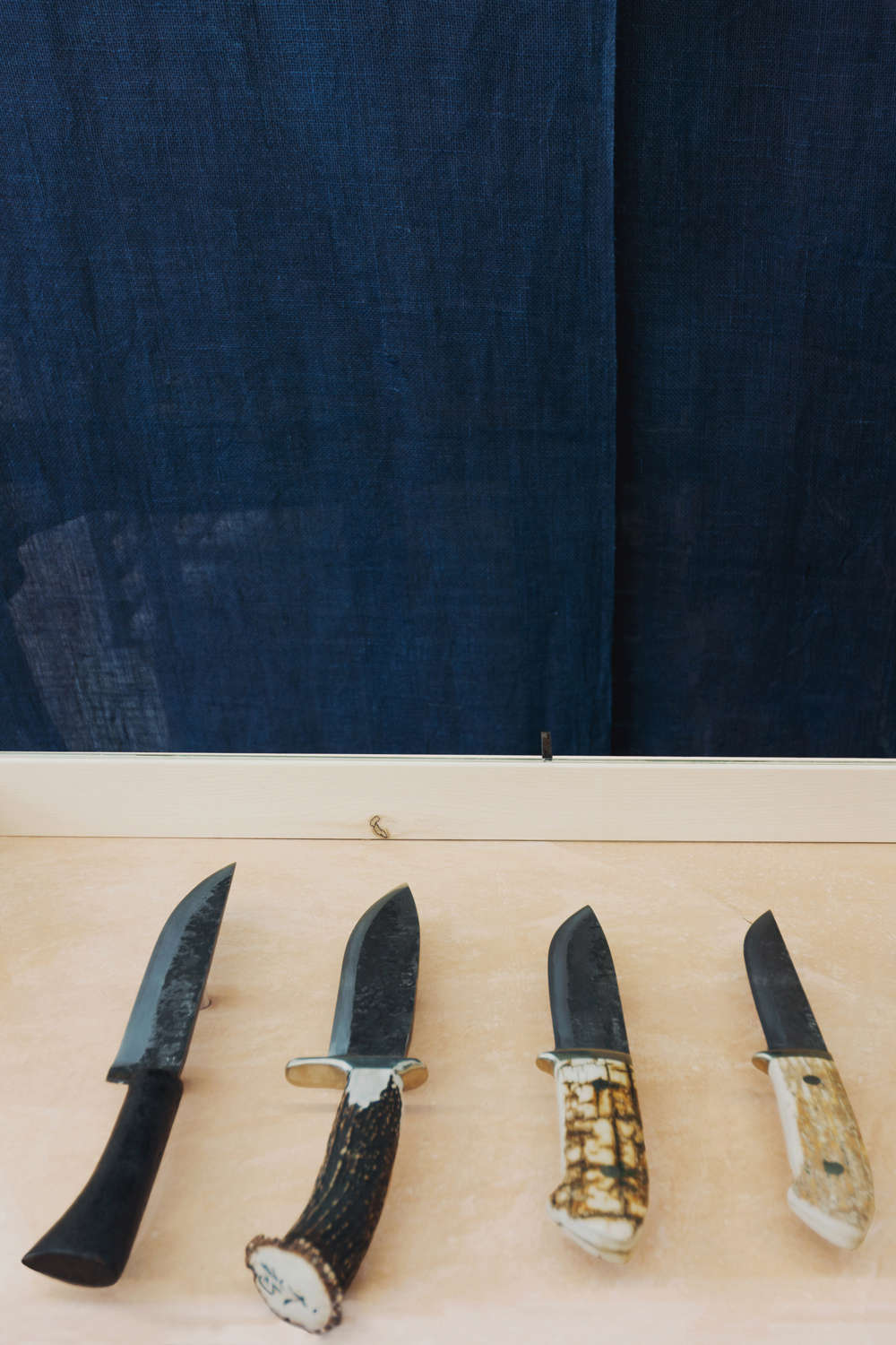 Knives in Ai and Om Knife Shop by Scott and Scott Architects