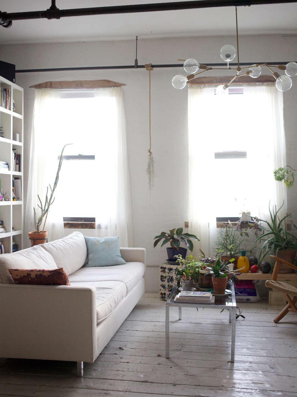Shabd Simon Alexander Light-Filled Loft with Houseplants