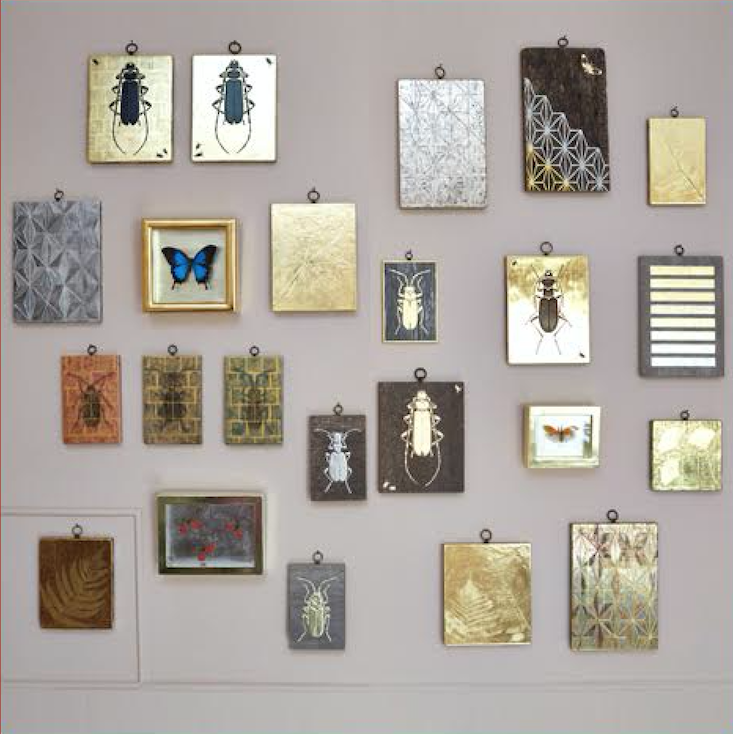 Current Obsessions This Weekends Portland OR Marketand More tennant and tennant gilded wall hangings remodelista