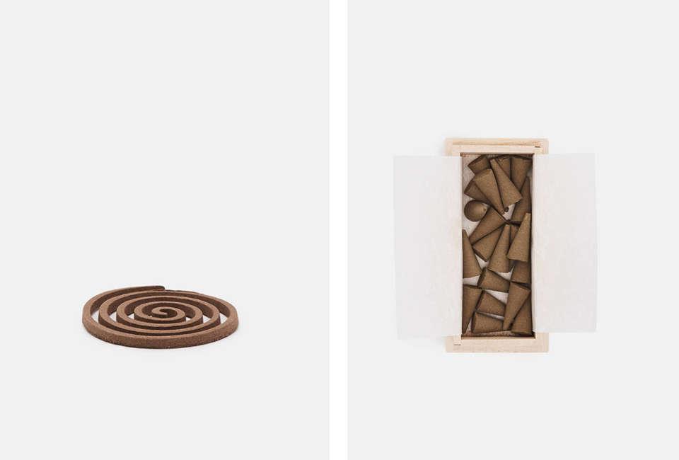 Tennen Spiral and Cone Incense