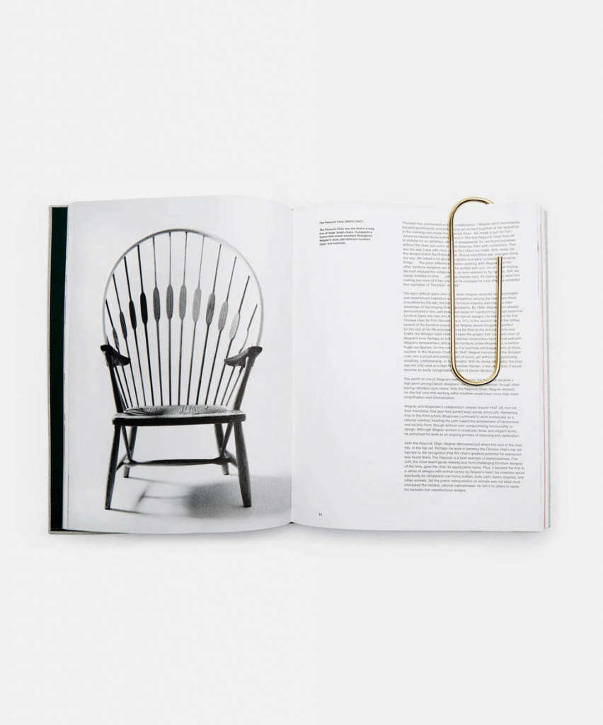 the line carl aubock large brass paperclip 9